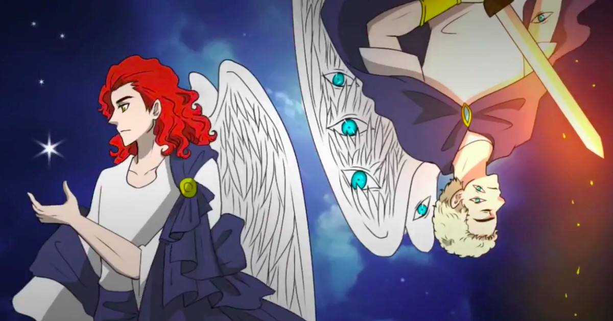This fan-made anime opening of Good Omens startled Neil Gaiman