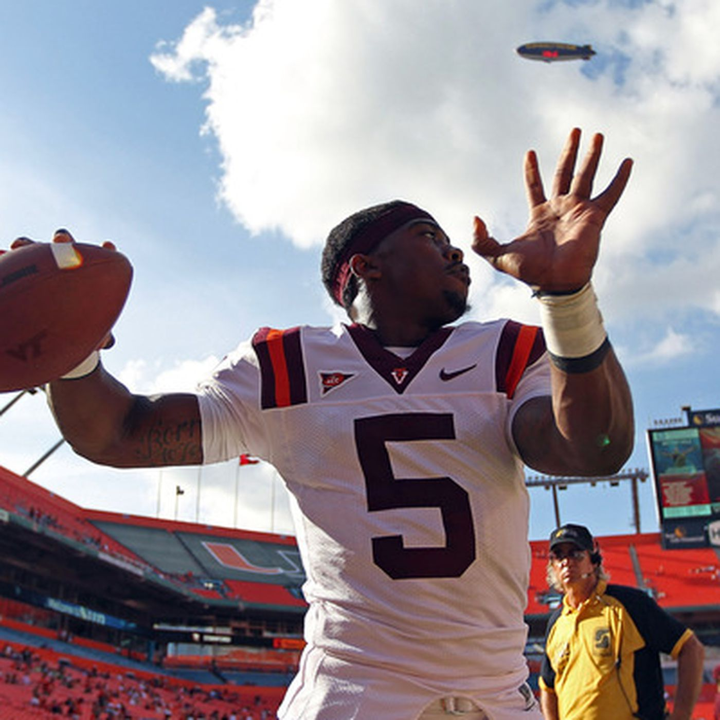 finest selection f04fe 45568 Virginia Tech QB Tyrod Taylor Named ACC Player of the Year ...