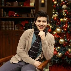 David Archuleta passed through Salt Lake City last week to promote products, sign autographs, do interviews and spend Thanksgiving with his family.