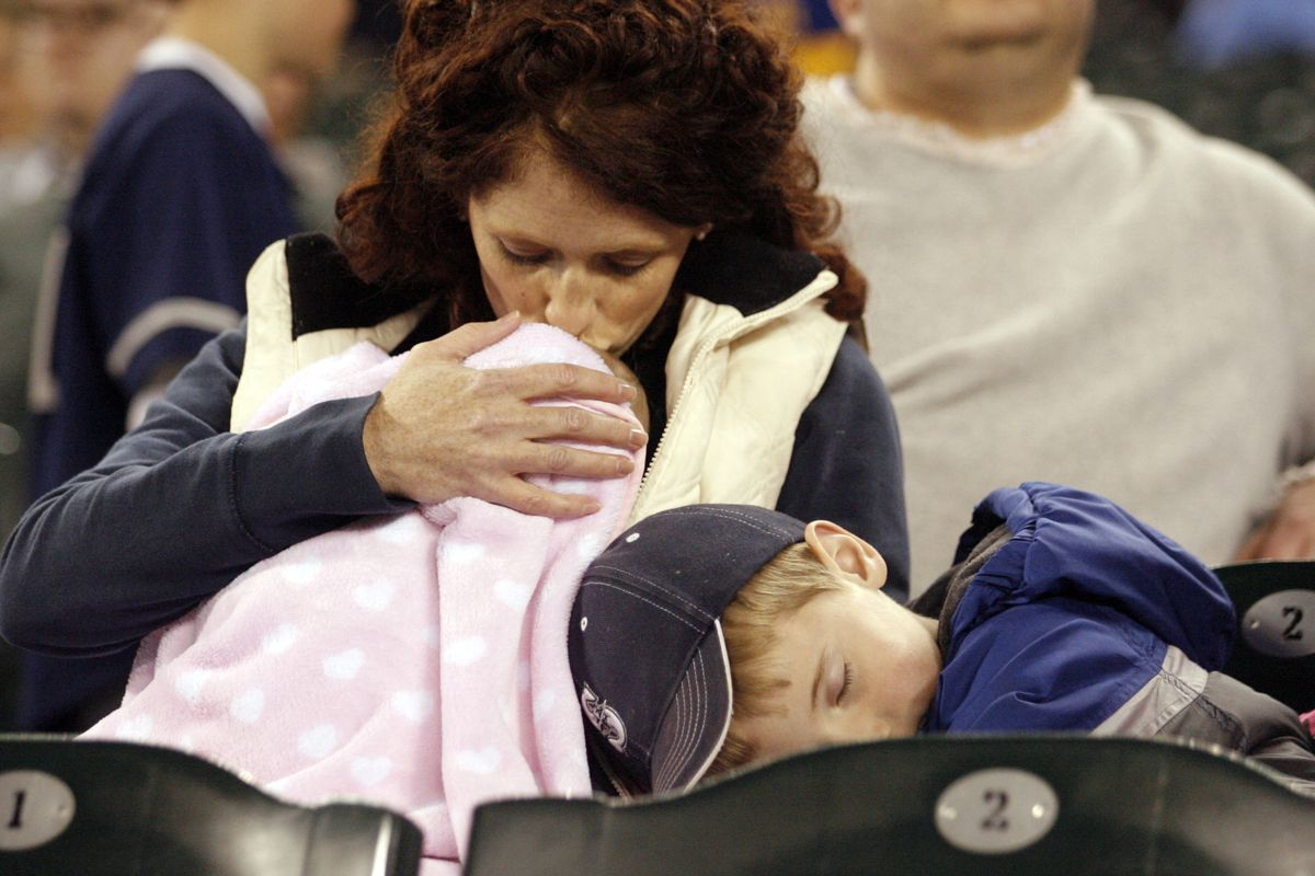 Moms: They'll sit through a Mariners game for you
