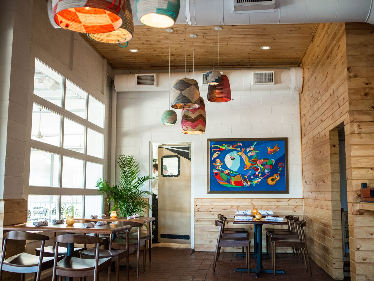 Yuyo's interior restaurant space