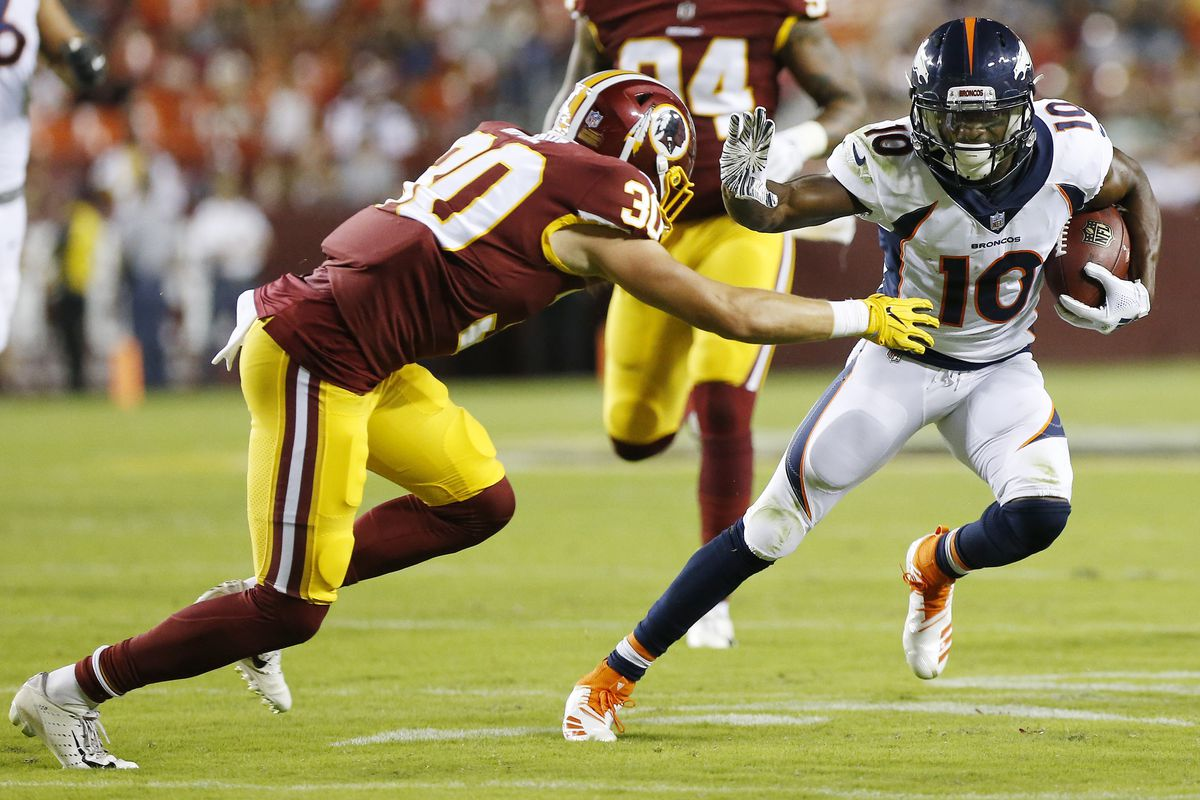 38c9f21c5a7 Redskins: Denver dominates preseason matchup with Washington in 29-17  victory