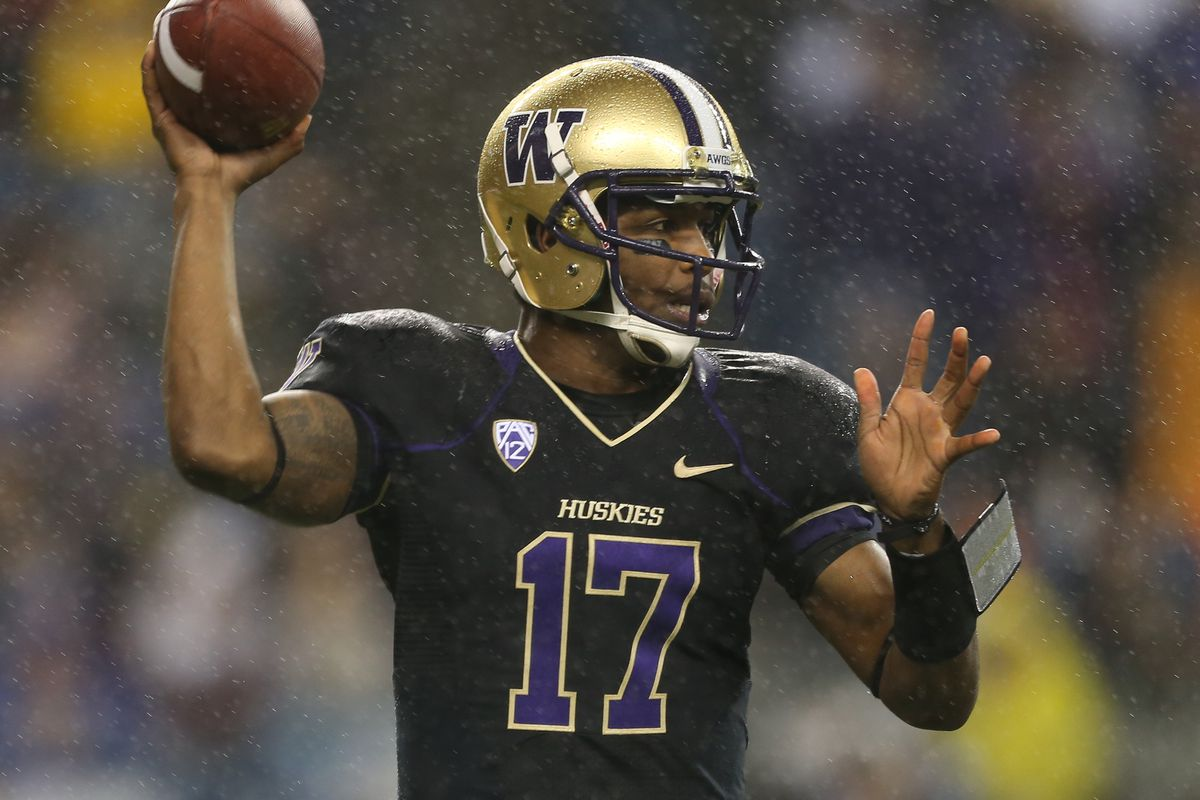 All eyes will be on QB Keith Price to see if he can lead the Huskies to a big-time win over Oregon