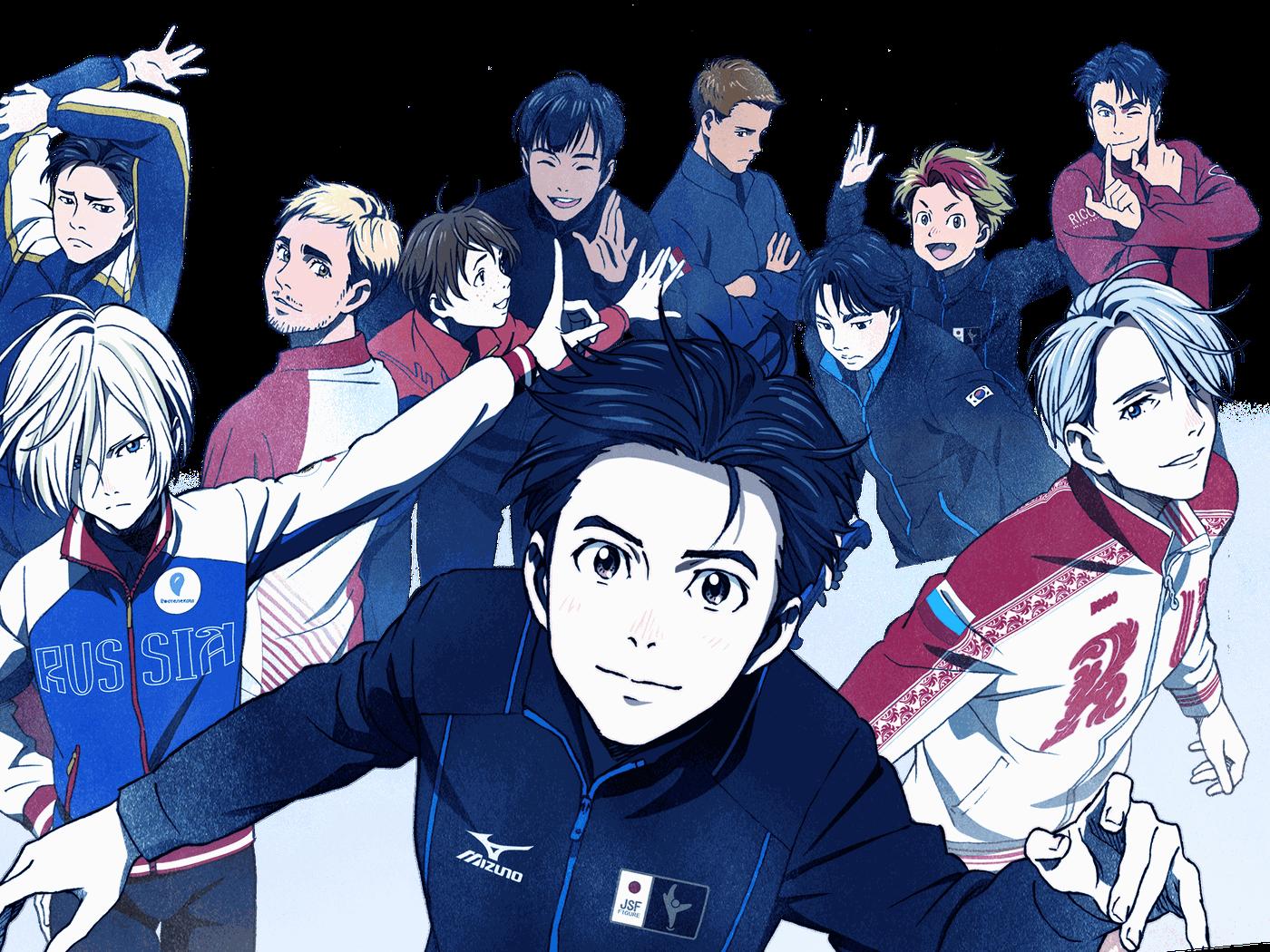 yuri on ice sports anime
