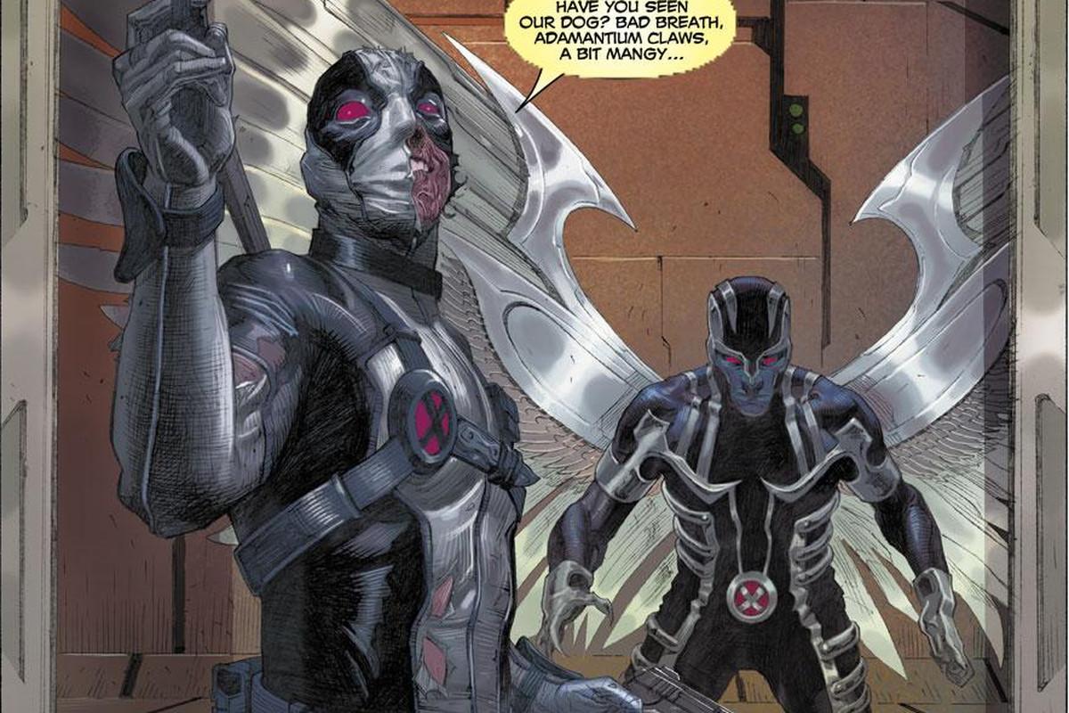 Uncanny X-Force No. 4.