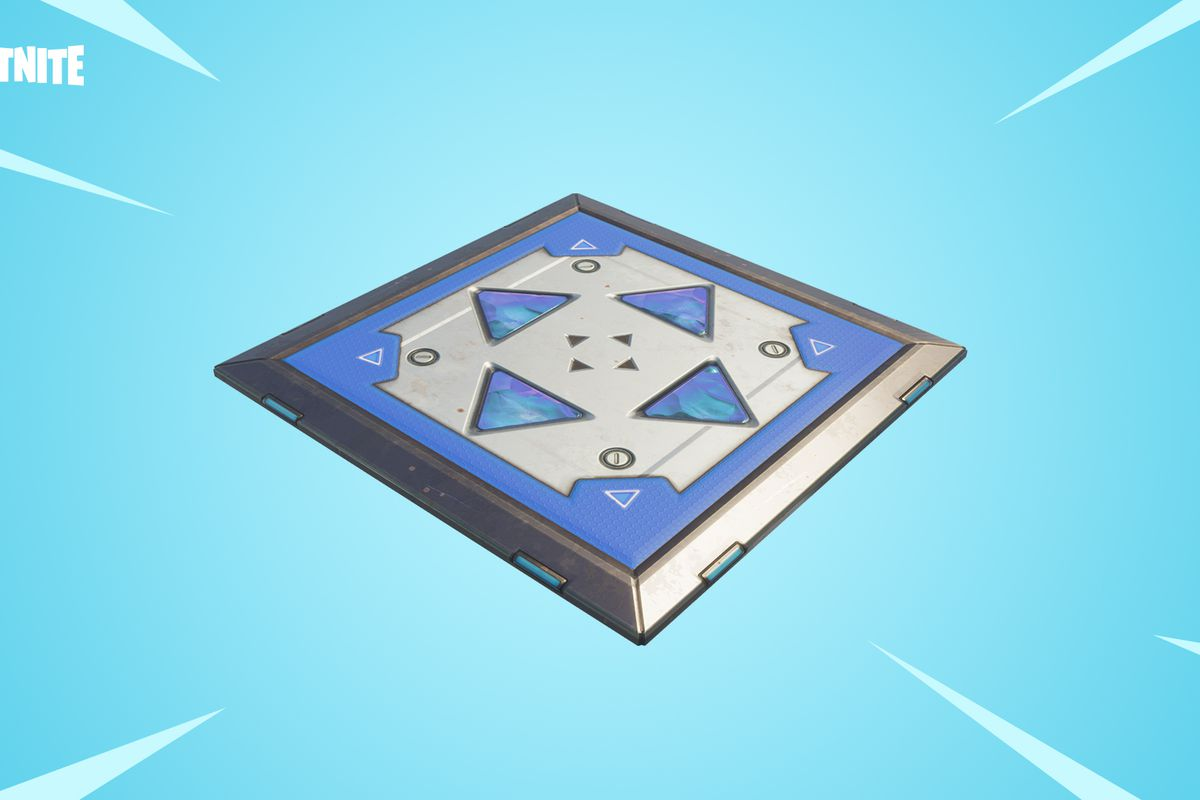 Fortnite S Newest Item Is The Bouncer Trap Polygon