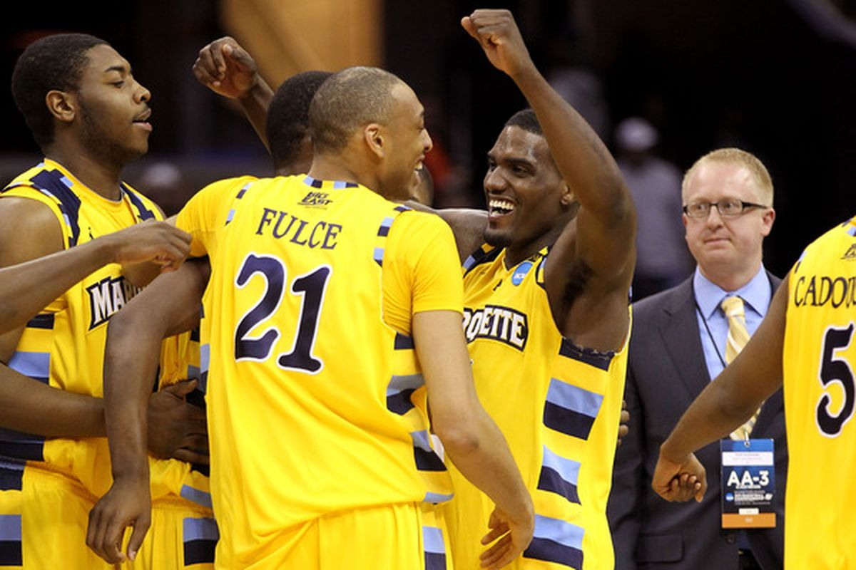 Does this shining moment make Marquette's 2011 season the best since 2003?