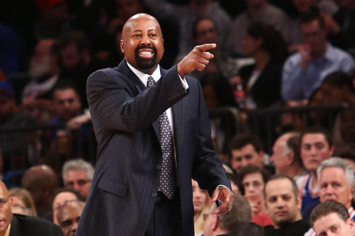Mike Woodson throws his hands up in the air sometimes SBNation