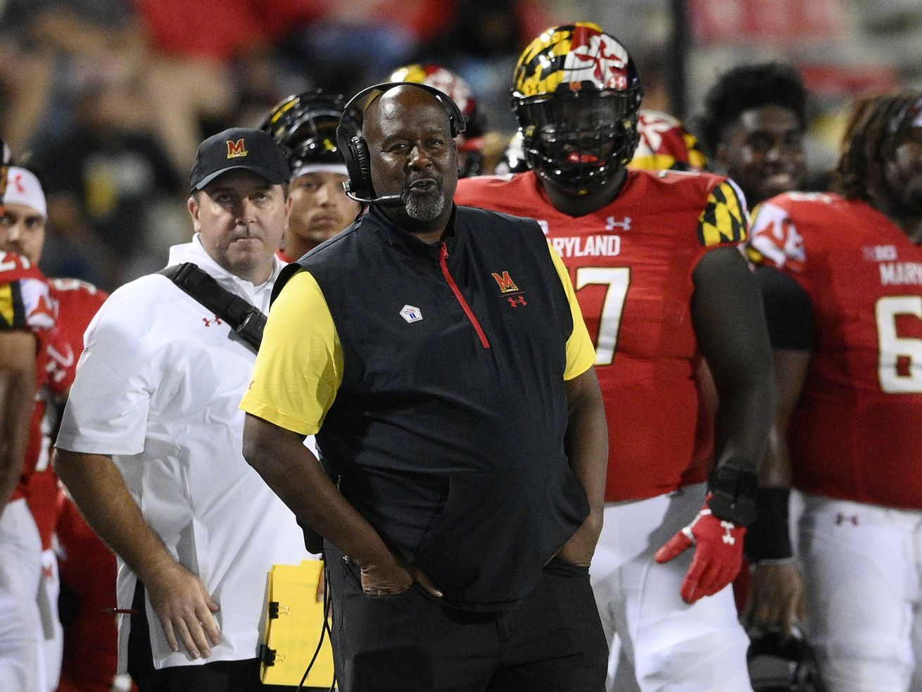 Maryland head coach Michael Locksley, a former offensive coordinator at Illinois, will lead the Terapins to their first road game against the Illini.
