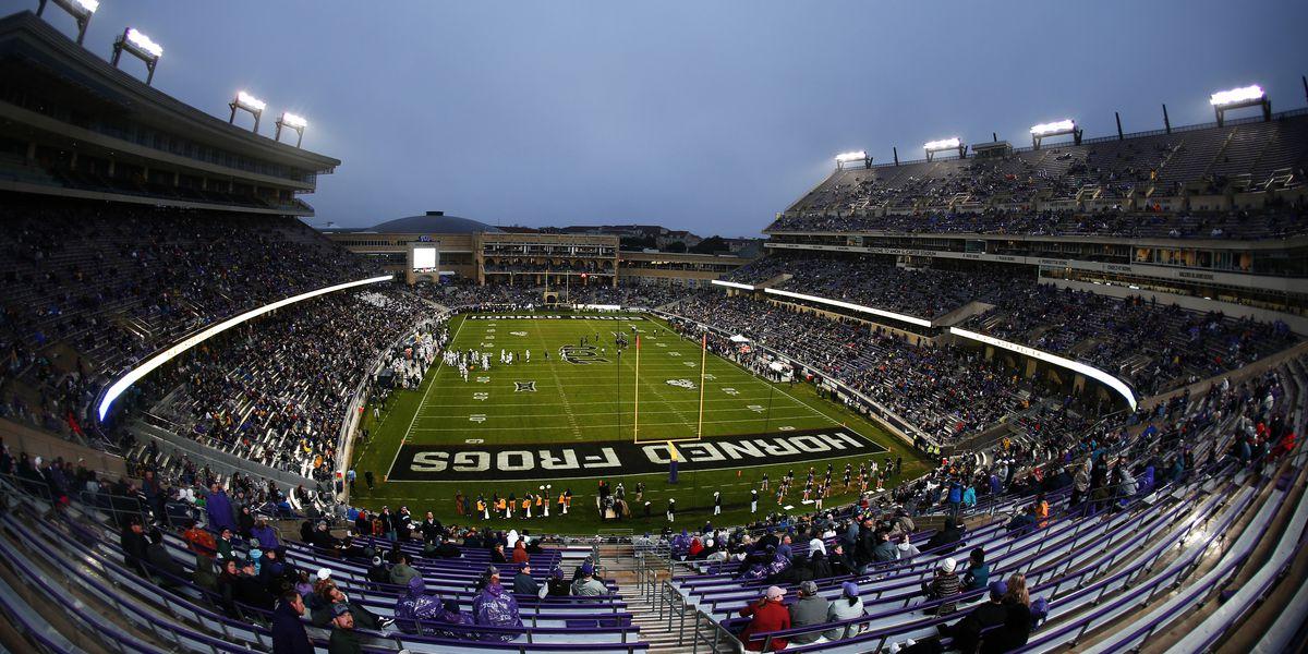 Tcu Football To Open Stadium At 25 Capacity To Begin Season Frogs O War