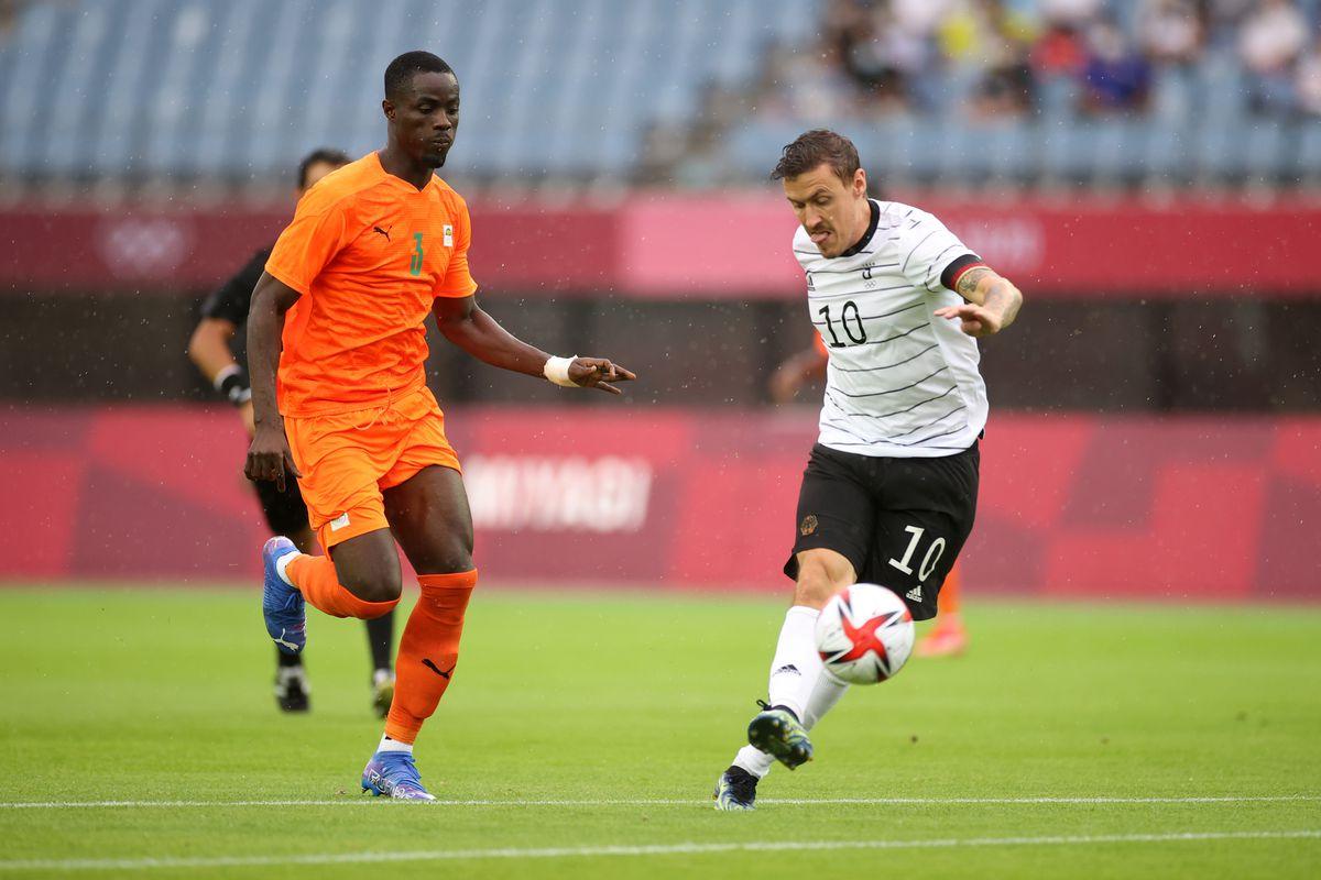 Germany vs Cote d'Ivoire: Men's Football - Olympics: Day 5