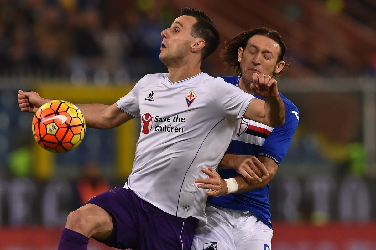 Kalinic has a little bit of the captain in him.