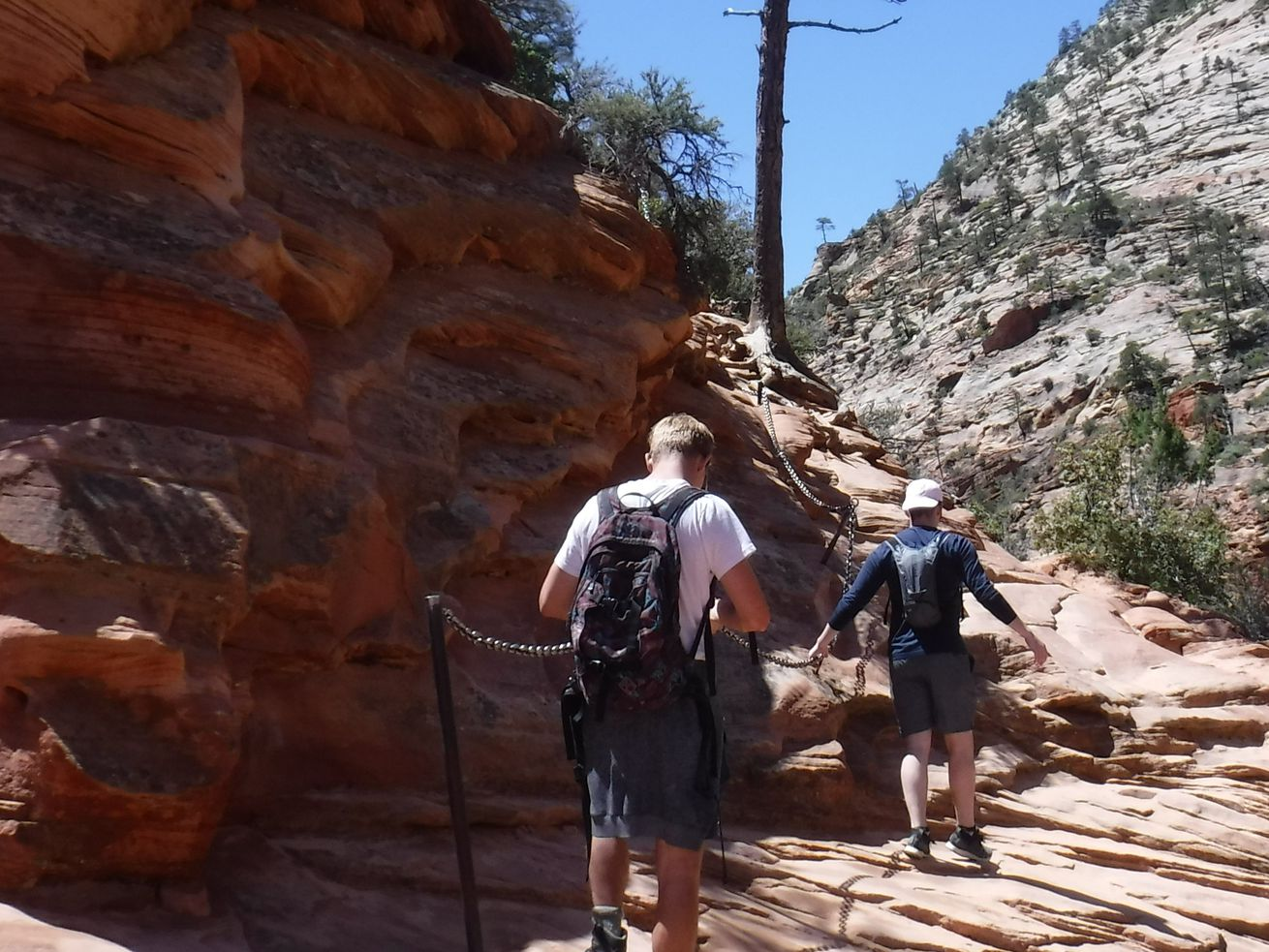 Angels Landing Trail closing for repairs Tuesday and Wednesday