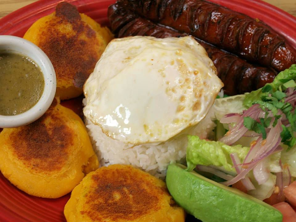 Heres Your Crash Course In Ecuadorean Food Lots Of Root Veggies Plantains Slow Roasted Pork Rice And Beans Throw An Egg On It And Its Breakfast