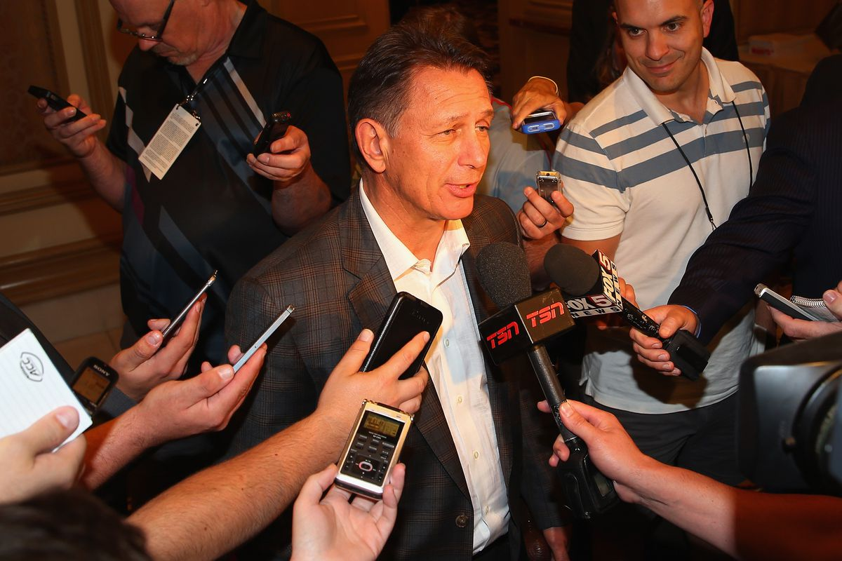 NHL General Managers Media Opp
