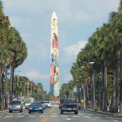 Obelisk in Santo Domingo