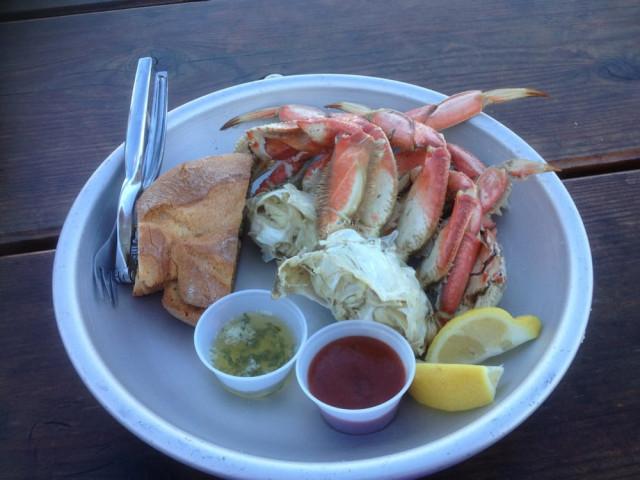 Crab at Fisherman's Cove