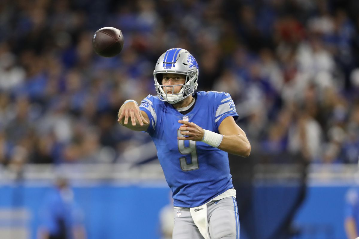 Football Outsiders Q A Can Matthew Stafford Keep Up His Incredible 2019 Pace Pride Of Detroit