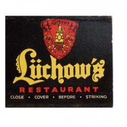 """<b>Lüchow's</b>: This <a href=""""http://en.wikipedia.org/wiki/Luchow's"""" rel=""""nofollow"""">German restaurant and beer garden</a> had a century-long run on 14th. St. It closed in 1982 and the property was bought up by NYU, who built a dorm there.  [<a href=""""h"""