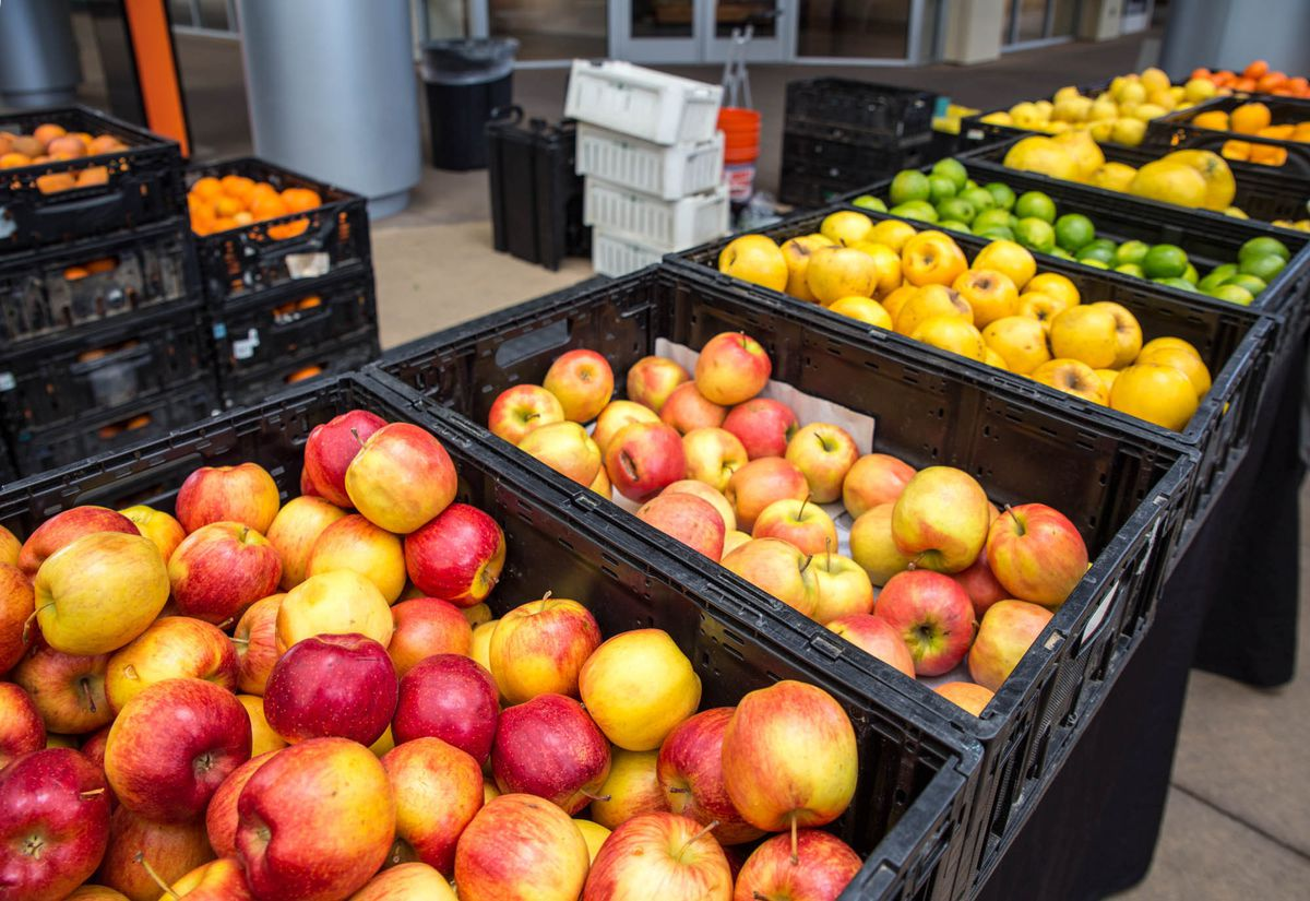 Produce available at the Las Vegas Farmers Market at Downtown Summerlin