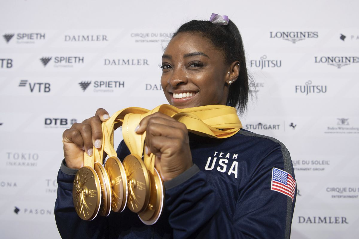 After record performance, Simone Biles will be face of 2020 Olympics