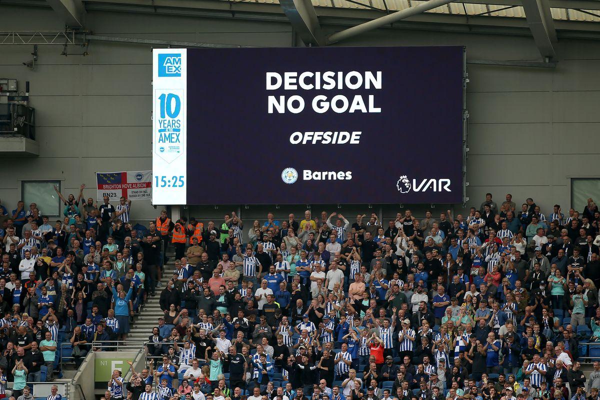 Brighton and Hove Albion v Leicester City - Premier League - AMEX Stadium