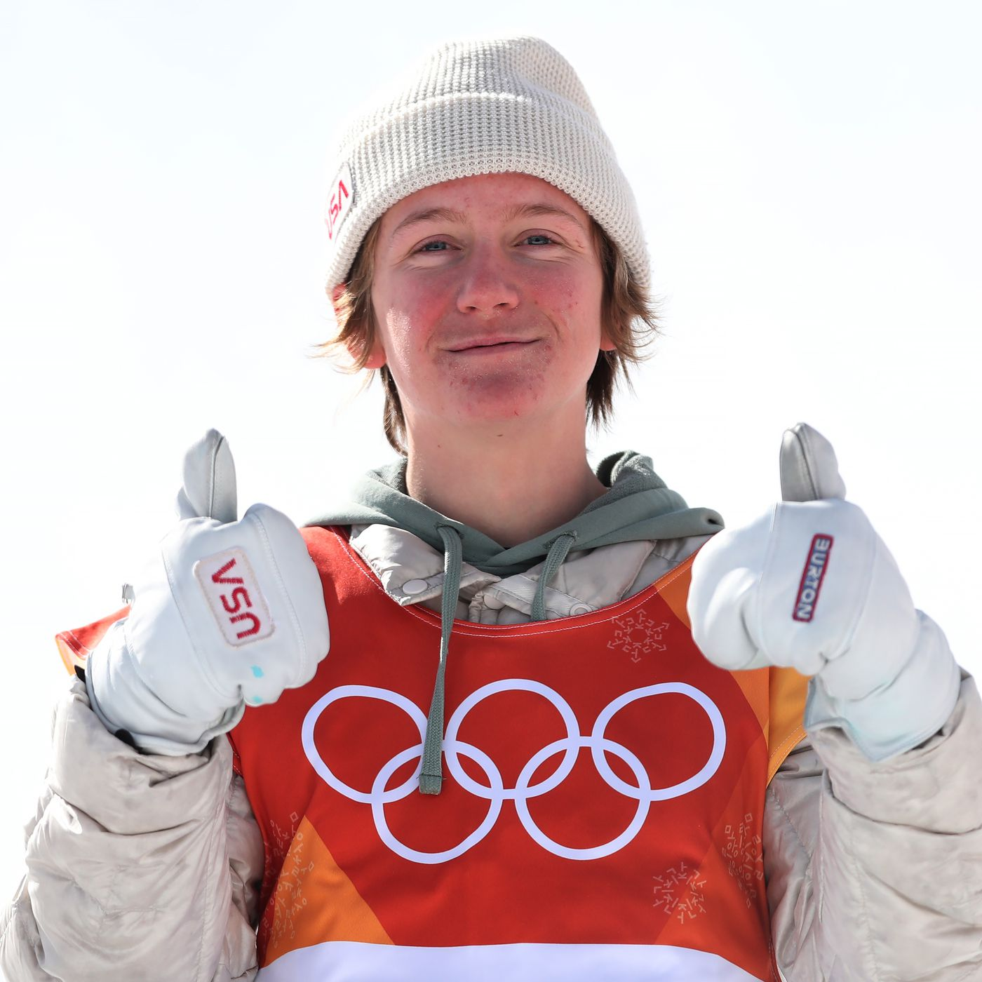 dcfcb75580c Let s meet Red Gerard. He is 17. He won the first U.S. gold medal at the  2018 Olympics.