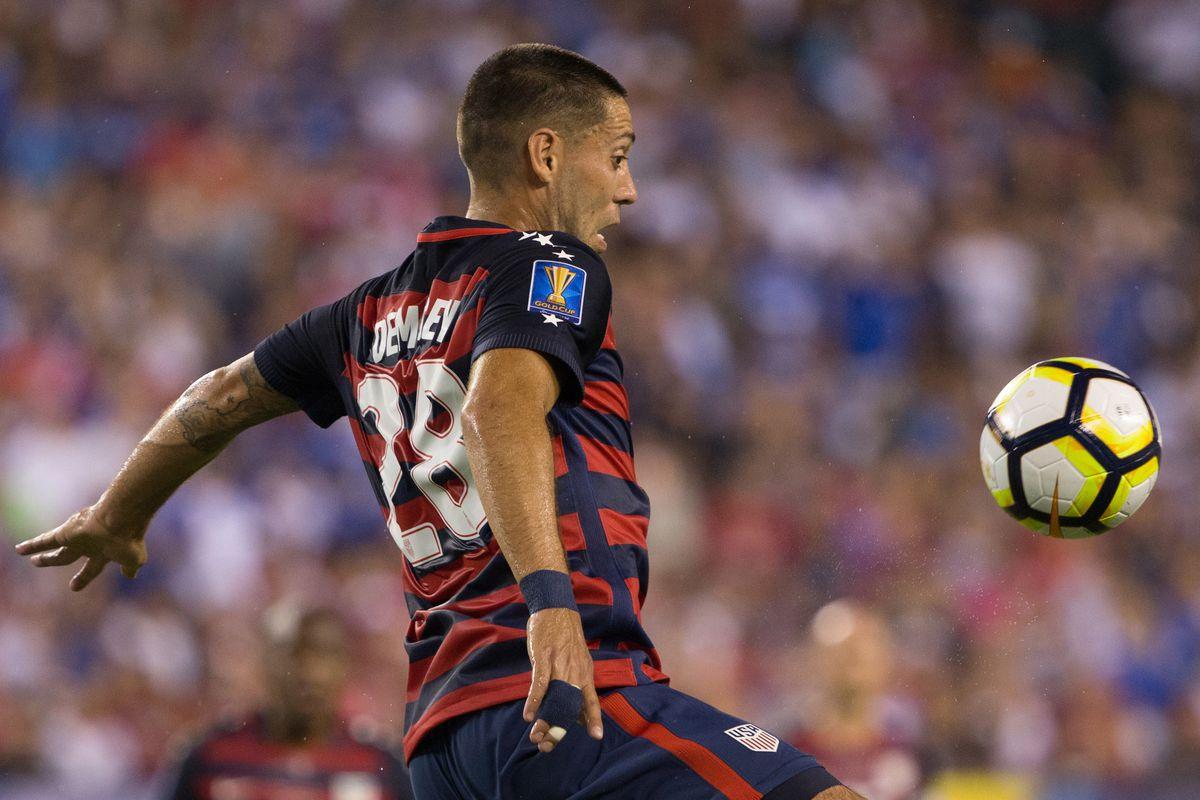 Soccer: 2017 CONCACAF Gold Cup-USA  at El Salvador