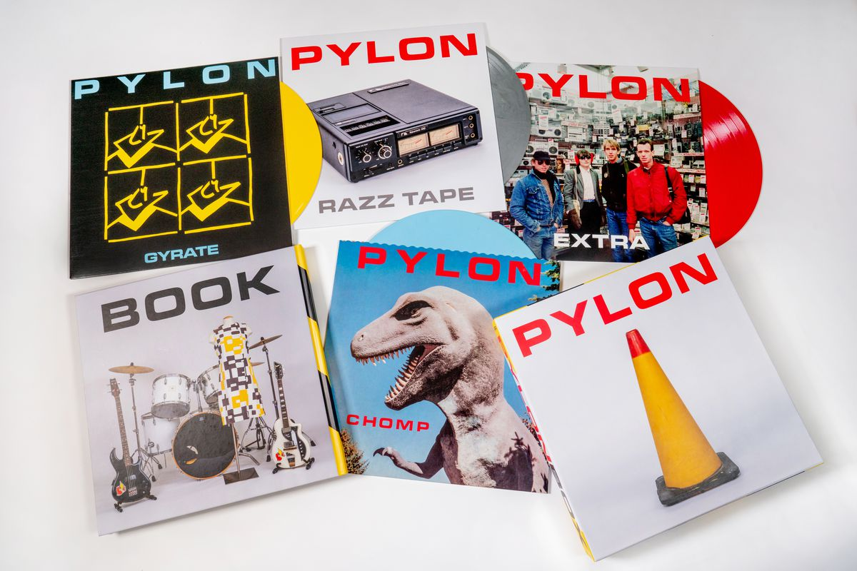 Seminal art-rock legends Pylon released Pylon Box in November, including studio albums Gyrate (1980) and Chomp (1983), which have been remastered from their original tapes and made available on vinyl for the first time in nearly 35 years.