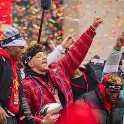 February 2020: The San Francisco 49ers controlled Super Bowl LIV for 3.5 quarters, holding a 20-10 lead. In the final 7 minutes of the game, though, the Chiefs' offense finally exploded, ripping off three touchdowns to stun the 49ers by a final score of 31-20. Patrick Mahomes took home the MVP honor.