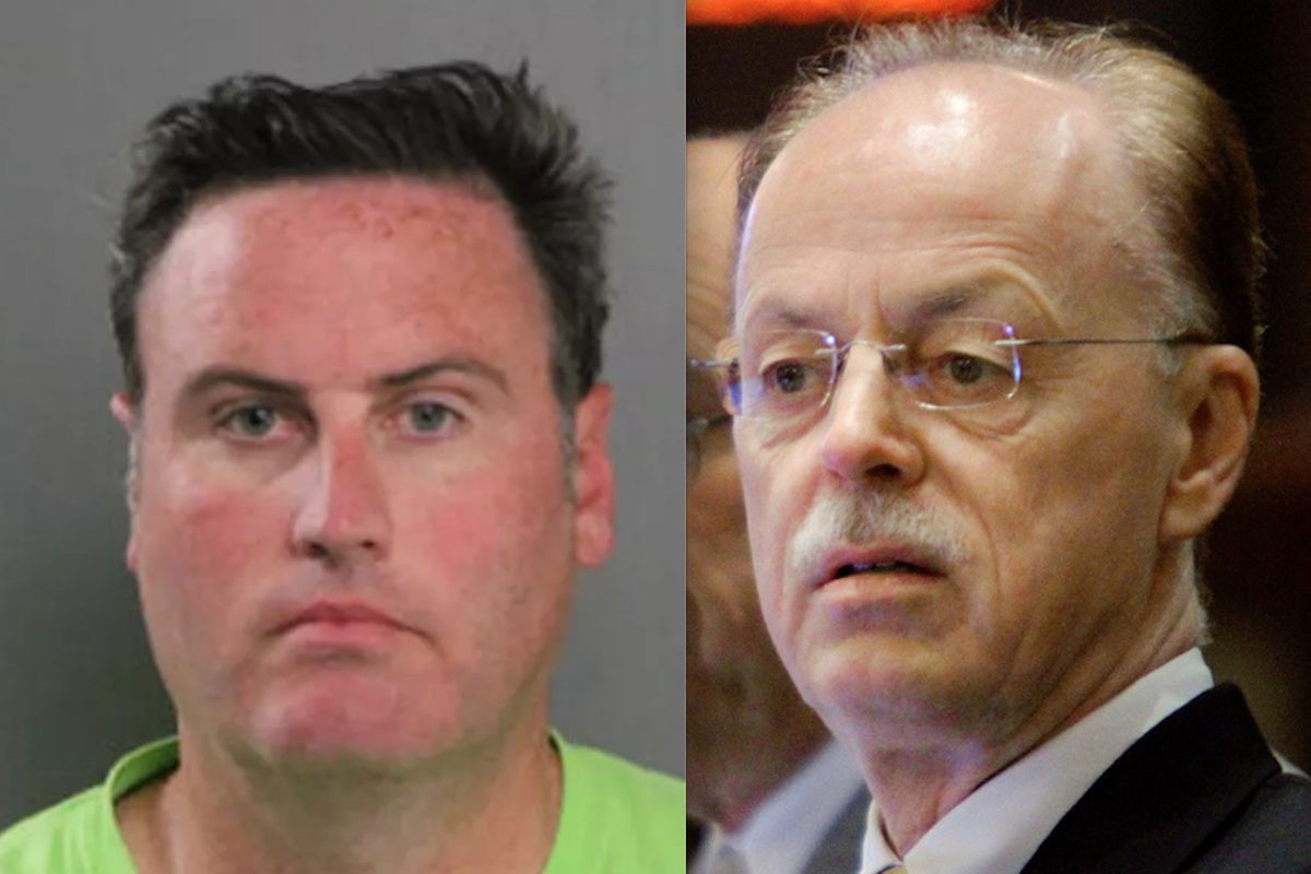 Kevin Quinn, left; Timothy Mapes, right.