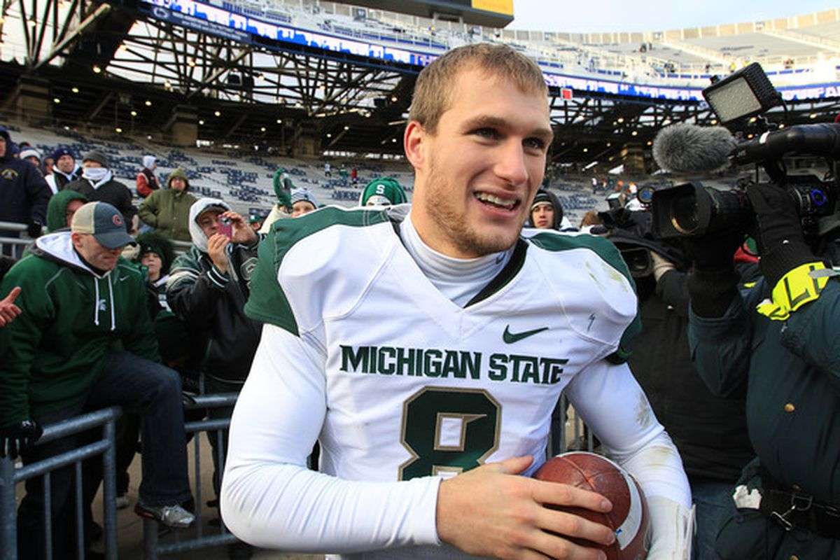 The always hot and cold Kirk Cousins.