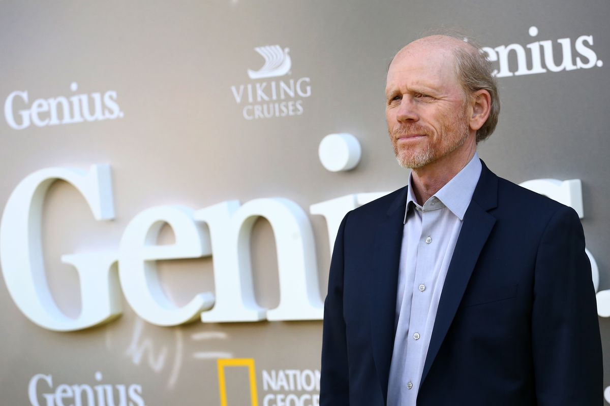 Ron Howard at National Geographic's Premiere Screening of 'Genius' in Los Angeles