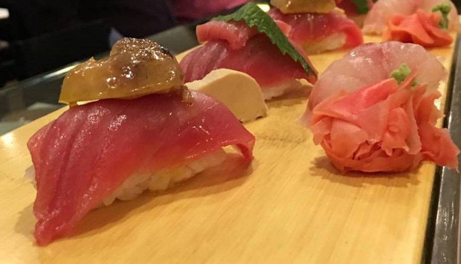 Who needs butter sushi when you have foie? Photo courtesy Sushi Fix