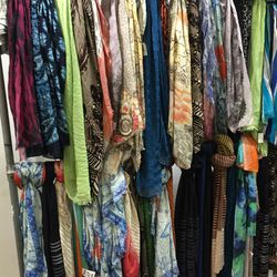 Women's scarves, $44—$138 (from $175—$550)