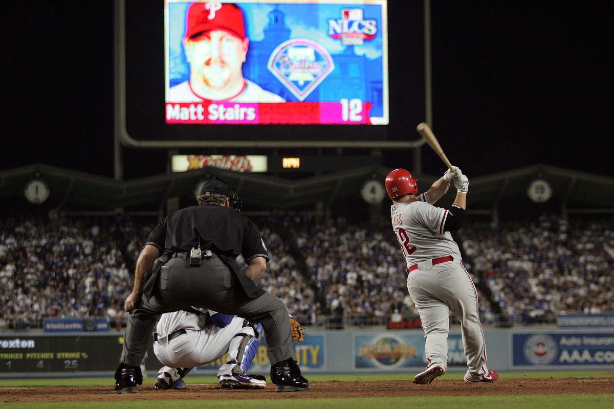 Philadelphia Phillies v Los Angeles Dodgers, Game 4