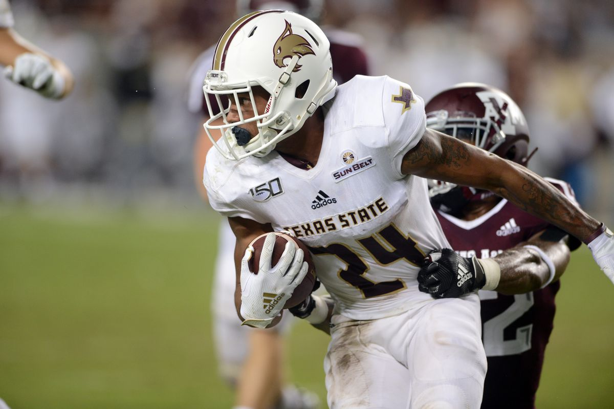COLLEGE FOOTBALL: AUG 29 Texas State at Texas A&M