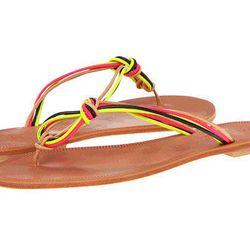 "Joie <b>Palmetto</b> sandal, $128 at <a href=""http://www.zappos.com/joie-palmetto-neon-multi"">Zappos</a>"