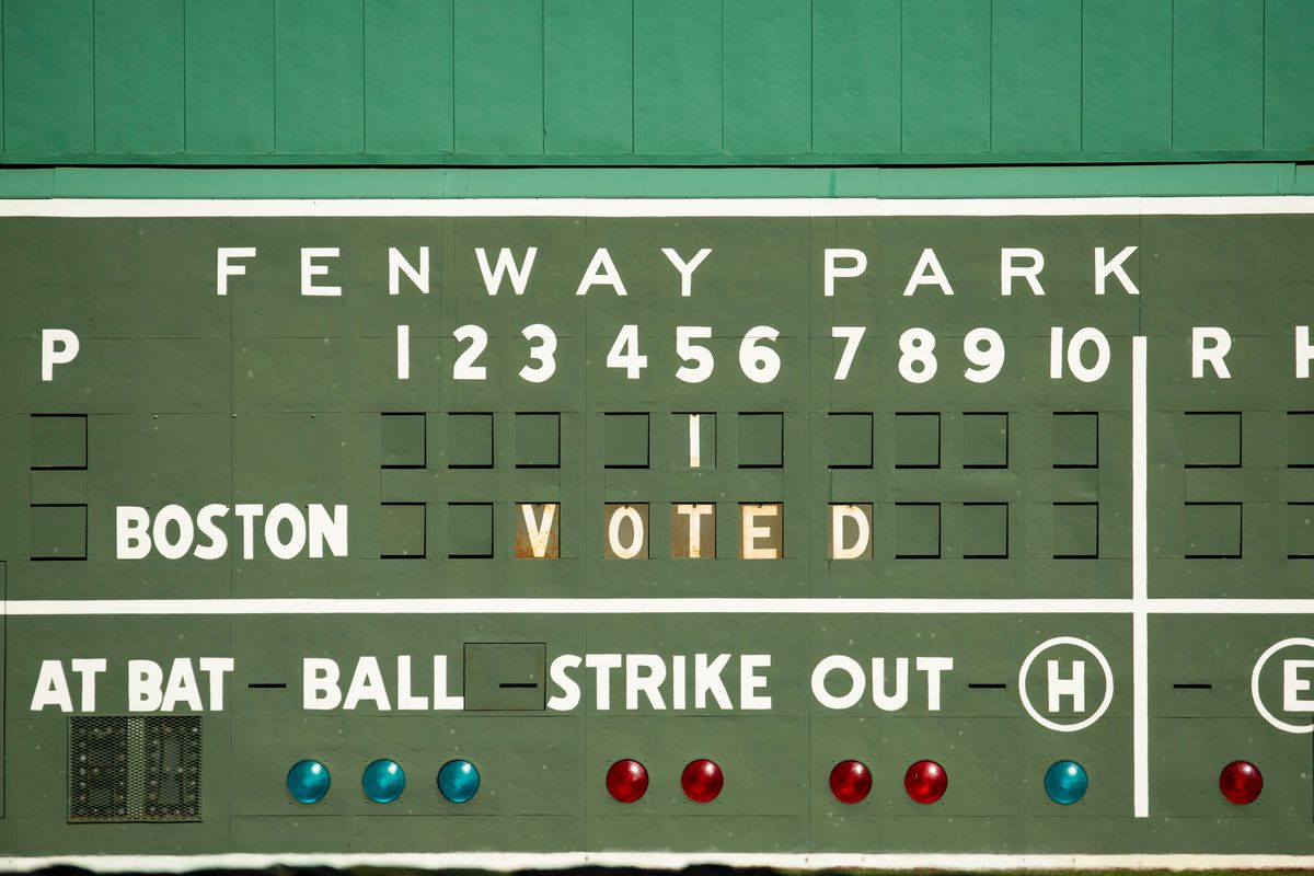 Fenway Park Election Early Voting Center