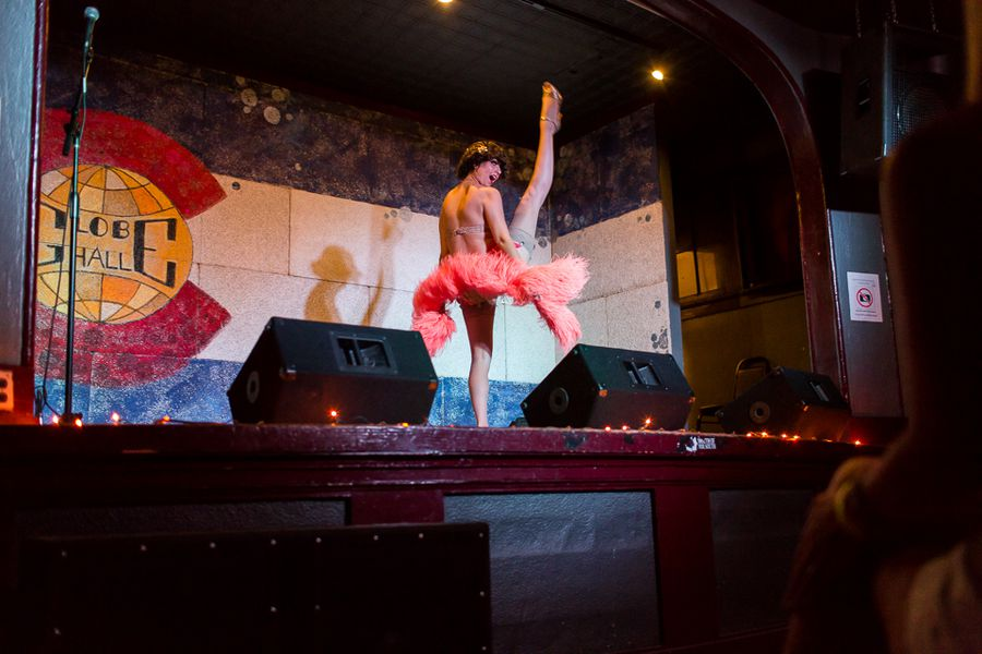 Barbecue Burlesque And Magic At Globe Hall Eater Denver