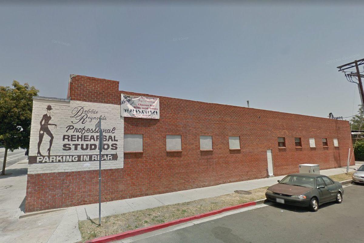 View of dance studio