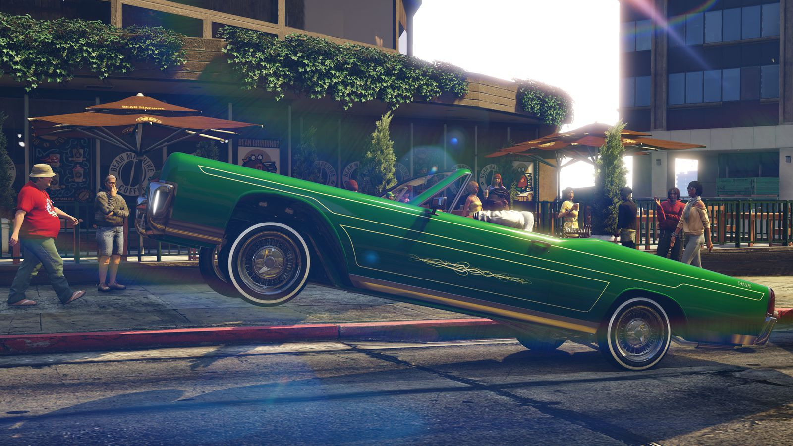 You Can Finally Drive A Lowrider In Grand Theft Auto Online The Verge