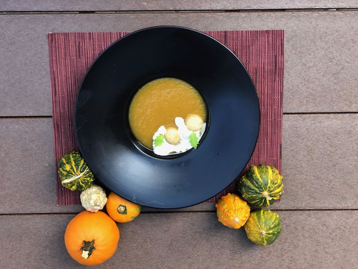Pumpkin Soup Just Hit The Menu At Ritz Carlton S Westend Bistro Official Photo