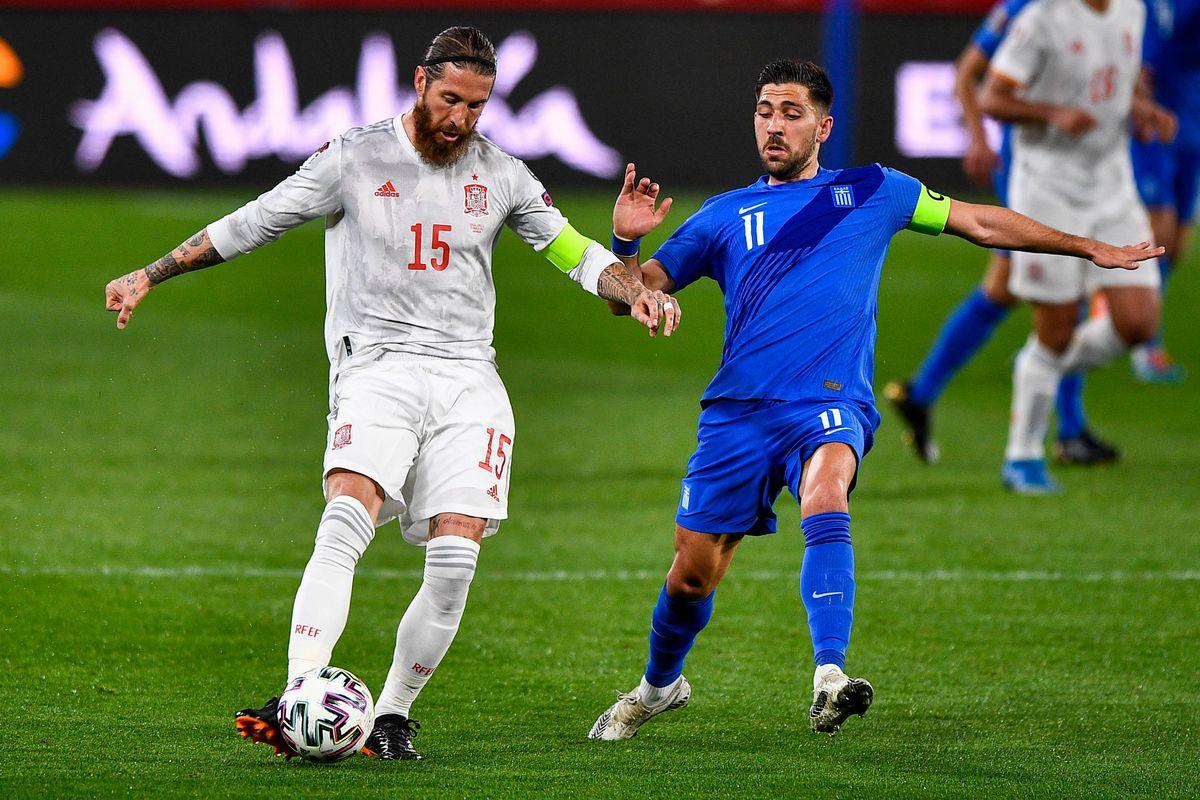 Spain v Greece - FIFA World Cup 2022 Qatar Qualifier