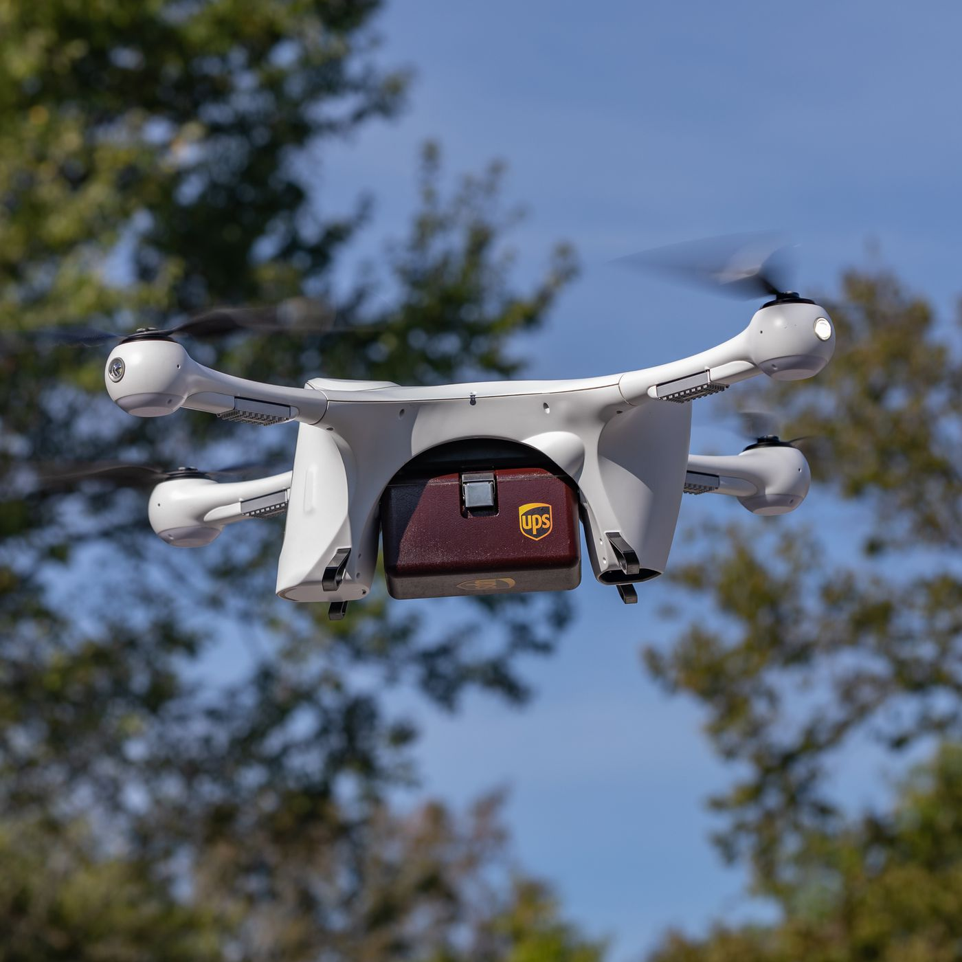 Ups Delivers Prescription Medications To Us Homes By Drone