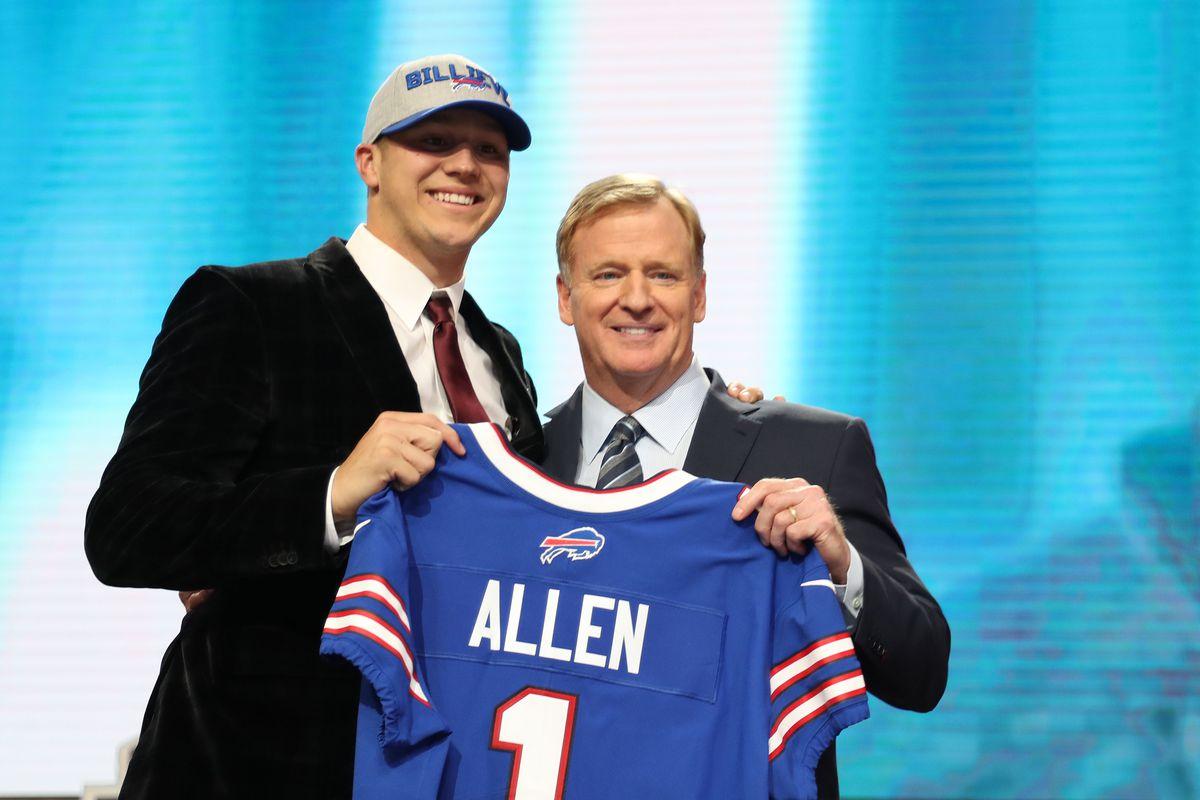 Sam Darnold Josh Allen Biggest Names Drafted By Patriots