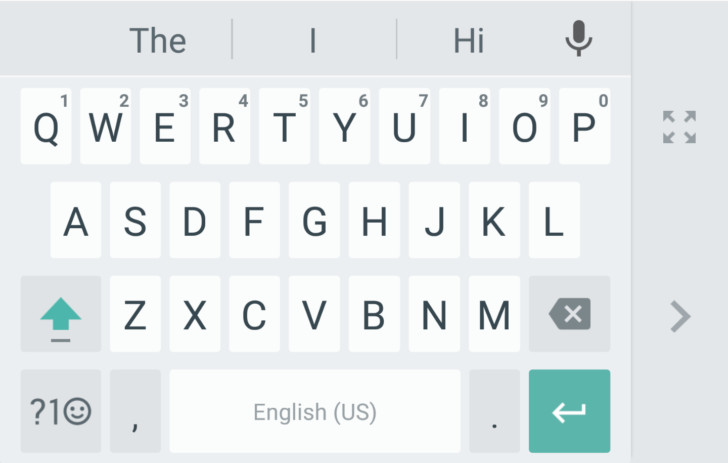 Google Keyboard for Android now has a one-handed mode - The Verge