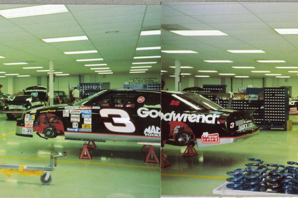 Welcome N.C. - Richard Childress Racing August 1994 Credit: Bob Ellis (NASCAR Ranting and Raving)