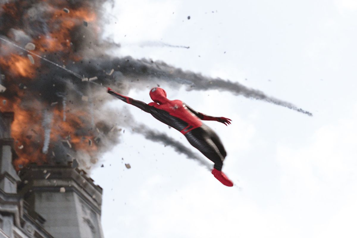 Spider-Man: Far From Home is a full-on heroic triumph - The