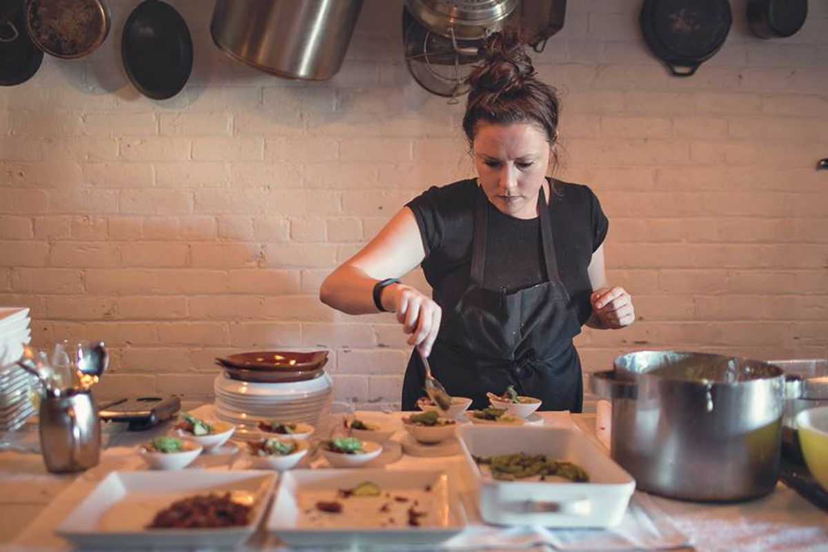 Chef Kate Williams will launch a new dining series this month.